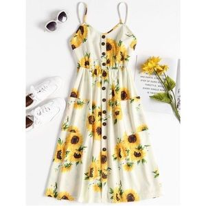 Sunflower Dress NWT